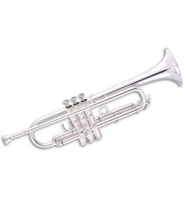 Trompete John Packer JP251SWLT Si Bemol Prateado com Estojo