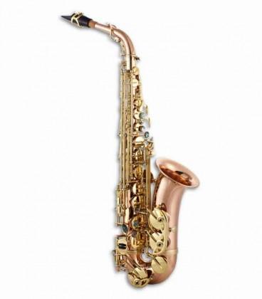 Saxofone Alto John Packer JP045R Mi Bemol Cobre com Estojo