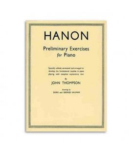 Livro Thompson Hanon Preliminary Exercises Piano WHR000352