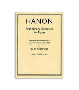 Livro Thompson Hanon Preliminary Exercises Piano WHR000352