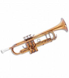 Trompete John Packer JP251SWA Si Bemol Dourado Antigo com Estojo