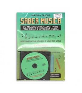 Livro Eurico Cebolo SMUS Método Saber Música com CD