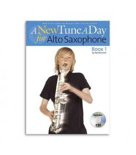 Livro Music Sales BM11363 A New Tune a Day Sax Book 1CD