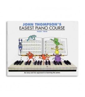 Livro Music Sales WMR000187 Thompson Easiest Piano Course 2