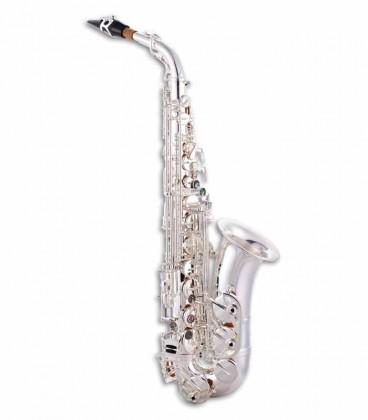 Saxofone Alto John Packer JP045S Mi Bemol Prateado com Estojo