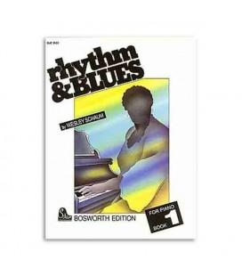 Livro Music Sales BOE3503 Rhythm & Blues piano