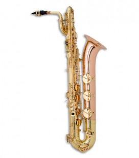 Saxofone Barítono John Packer J044 Mi Bemol Dourado com Estojo