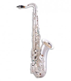 Saxofone Tenor John Packer JP042S Si Bemol Prateado com Estojo