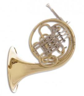 Trompa Harmonia John Packer JP163 Fá/Si Bemol Dourado com Estojo
