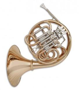 Trompa Harmonia John Packer JP261D Rath Fá/Si Bemol Dourado com Estojo