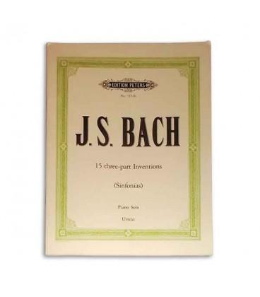 Bach Inven巽探es 3 Vozes Edition Peters