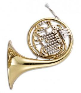 Trompa Harmonia John Packer JP263 Rath Fá/Si Bemol Dourado com Estojo