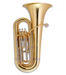 Tuba Compacta John Packer JP078 Si Bemol Dourada com Estojo