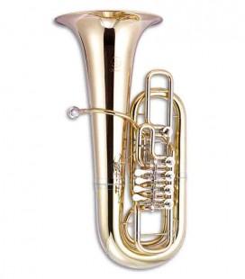 Tuba John Packer JP379FF Sterling Fá Dourada com Estojo