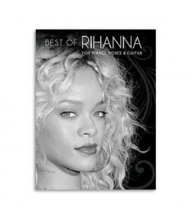 Livro Music Sales AM1004817 Best of Rihanna