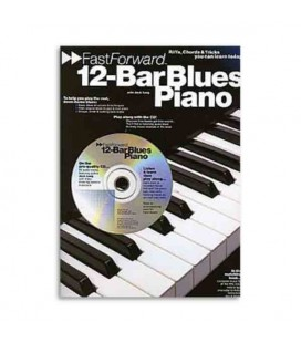 Livro Music Sales AM92445 Fast Forward 12 Bar Blues Piano