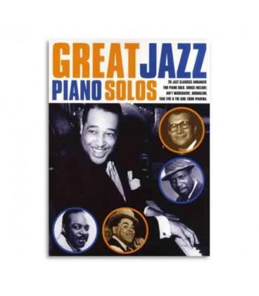 Livro Great Jazz Songs Piano Solos AM980001