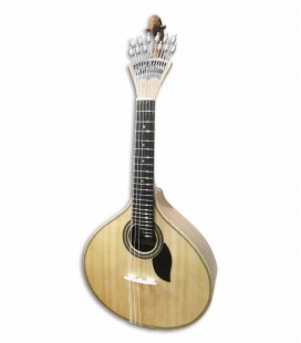 Guitarra Portuguesa Artimúsica 70070TP Simples 3/4 Modelo Lisboa Tampo em Pinho
