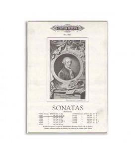 Haydn Sonatas N尊 2 Edition Peters