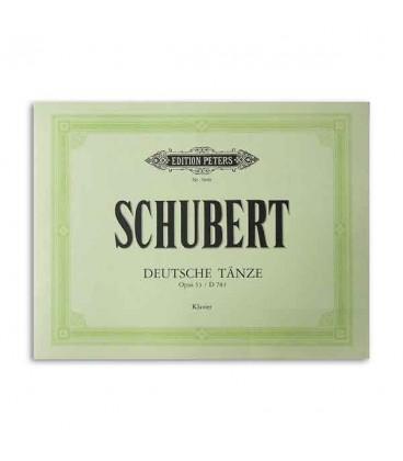 Capa do livro German Dances Opus 33 Schubert