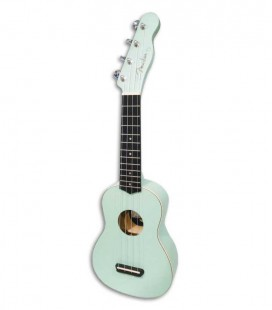 Foto do ukulele soprano Fender Venice Surf Green