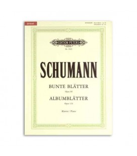 Livro Edition Peters EP9505 Schumann Album Leaves Opus 124