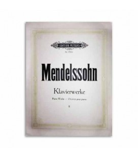 Mendelssohn Piano Works Volume 2 Peters
