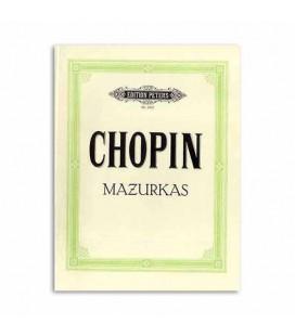 Livro Edition Peters EP1902 Chopin Mazurkas