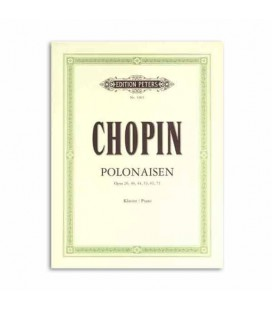 Livro Edition Peters EP1903 Chopin Polonaises