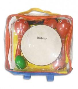 Kit de Percussão Honsuy 46500 6 peças