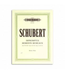 Livro Edition Peters EP3235 Schubert Momentos Musicais Op 90 94 142