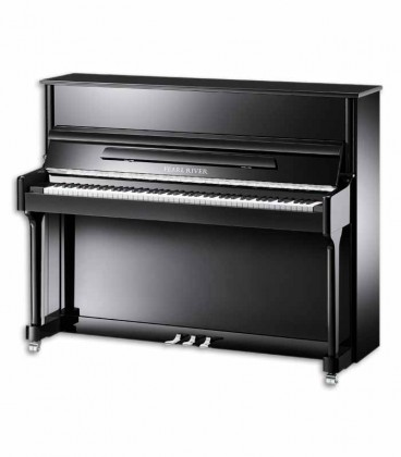 Piano Vertical Pearl River AEU118S PE Classic 118cm Preto Polido 3 Pedais