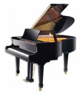 Piano Cauda Pearl River GP160 PE Mid Sized Grand Preto Polido