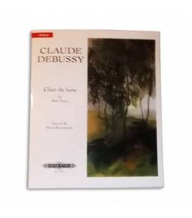 Livro Edition Peters EP7251 Debussy Raio de Luar