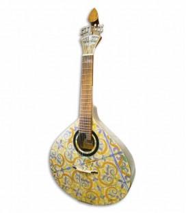 Guitarra Portuguesa APC GFHPCB Modelo Coimbra Spruce Mogno Pintada à Mão