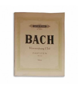 Bach Partitas Vol II N尊 4 a 6 Peters