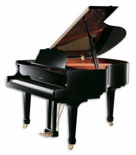 Piano Cauda Ritmuller R9 Conventional Medium Grand 160cm Preto Polido