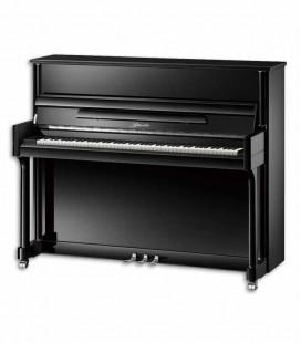 Piano Vertical Ritmuller EU121M PE Premium Professional 121cm Preto Polido 3 Pedais