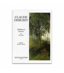 Livro Edition Peters EP7252 Debussy Childrens Corner