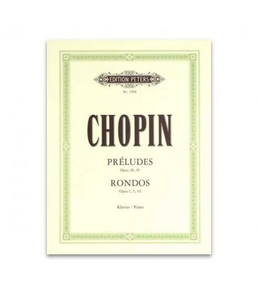 Chopin Preludes and Rondos Peters