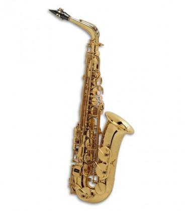 Saxofone Alto Selmer Super Action 80 II Mi Bemol Dourado Fá Sustenido Agudo