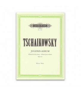 Tchaikovsky Album para Jovens Opus 39 Edition Peters