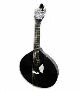Guitarra Portuguesa Artimúsica 70070N Simples Modelo Lisboa Negra