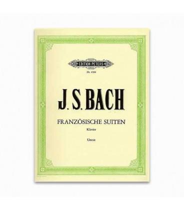 Livro Edition Peters EP4594 Bach Suite Francesa