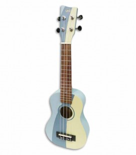 Ukulele Soprano VGS Surf Waves W-SO-BL com Saco VGS11202