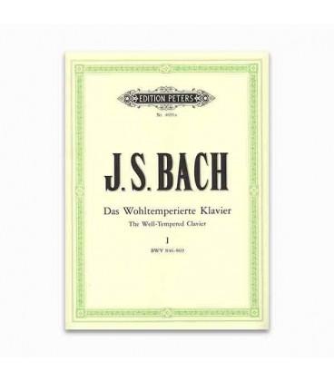Bach Prel炭dios e Fugas Volume I Peters