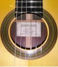 Guitarra Clássica Luthier Teodoro Perez Concerto Spruce e Madagascar Rosewood com Estojo