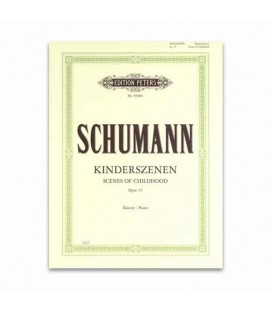 Livro Edition Peters EP9500B Schumann Cenas de Infância OP 15