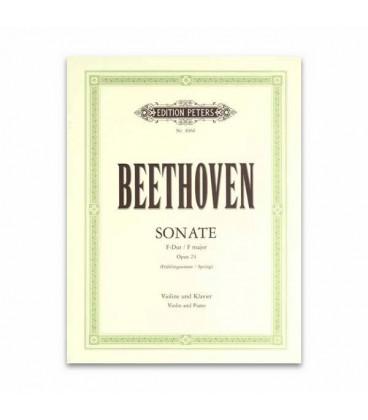 Beethoven Sonata da Primavera Opus 24 Edition Peters