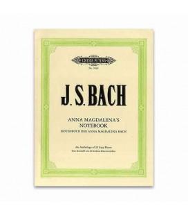 Livro Edition Peters EP3829 Bach Bloco Notas Anna Magdalena 20 Peças